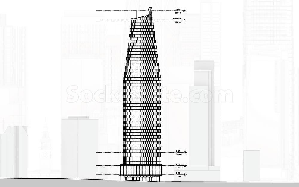 Skyline-Defining Plans for Hearst Parking Center Site