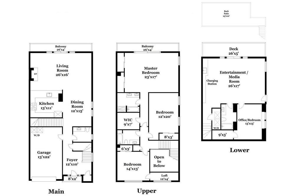 639 Grand View 2020 - Floor Plan