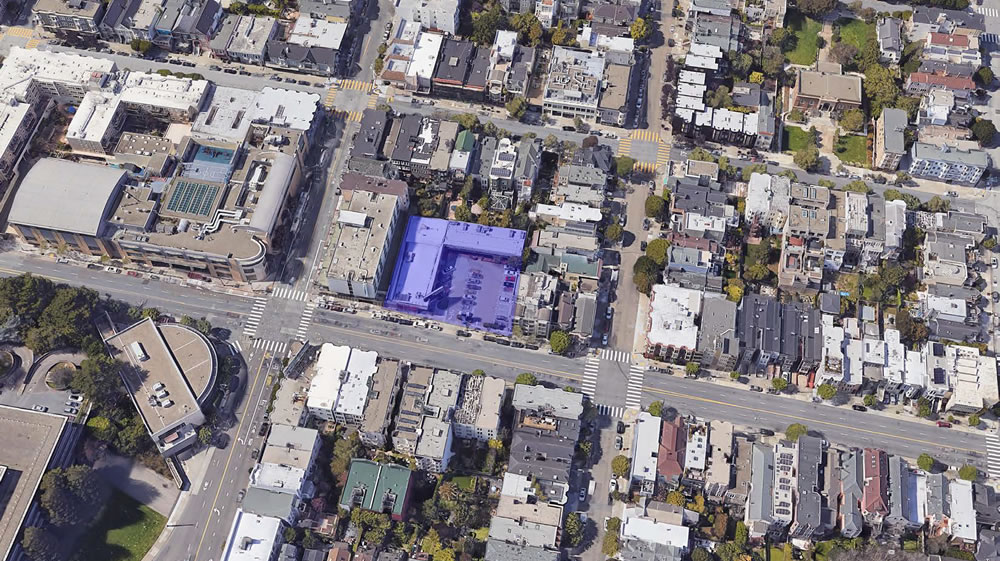 3150 California Street Site