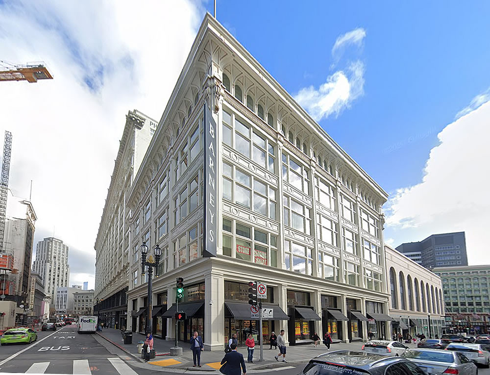 Plans to Redevelop the Historic Barneys Building