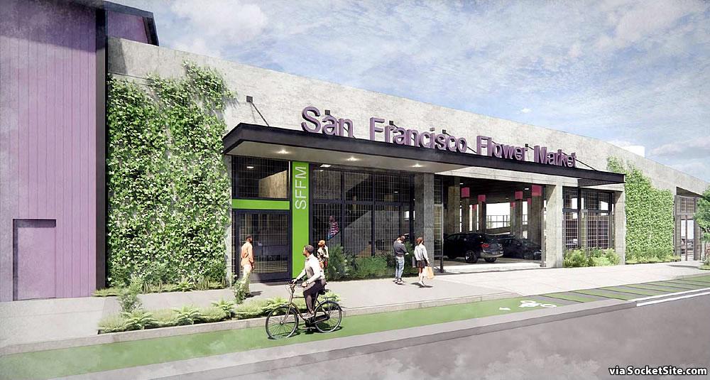 San Francisco Flower Mart Rendering - Mississippi