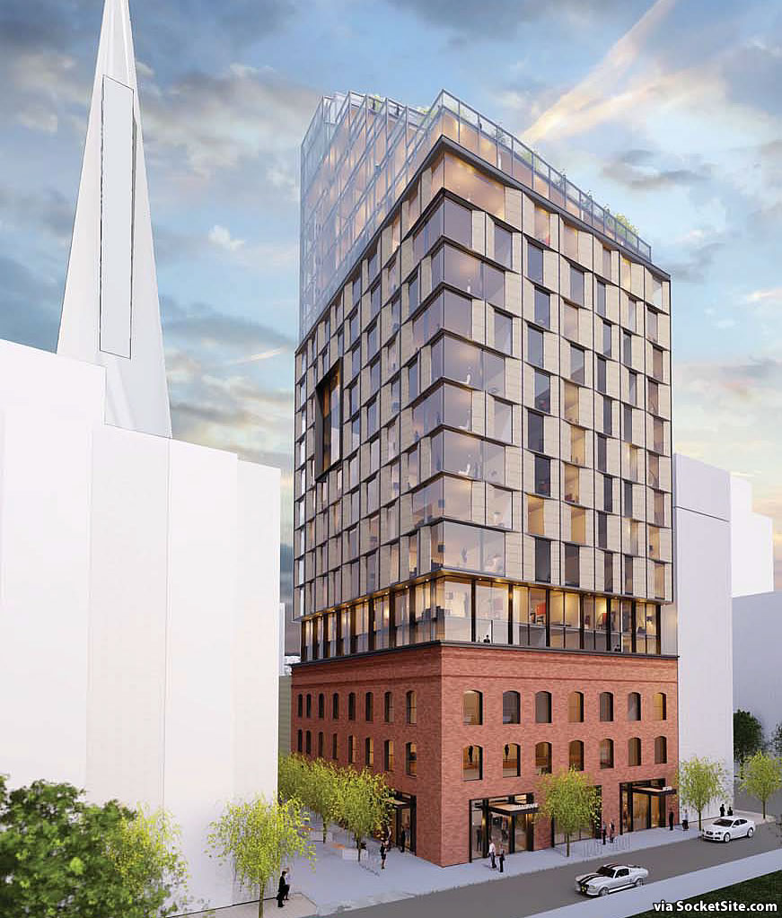 Proposed Terraced Tower and Expectations Take Three