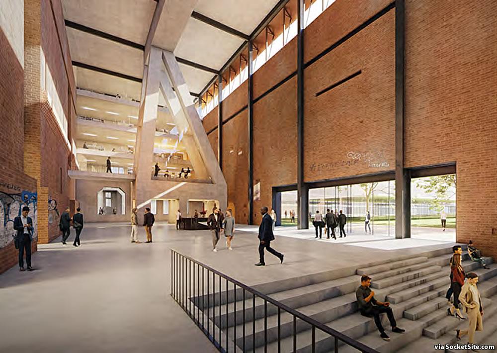 Potrero Power Plant 2020 - Station A Rendering - Lobby