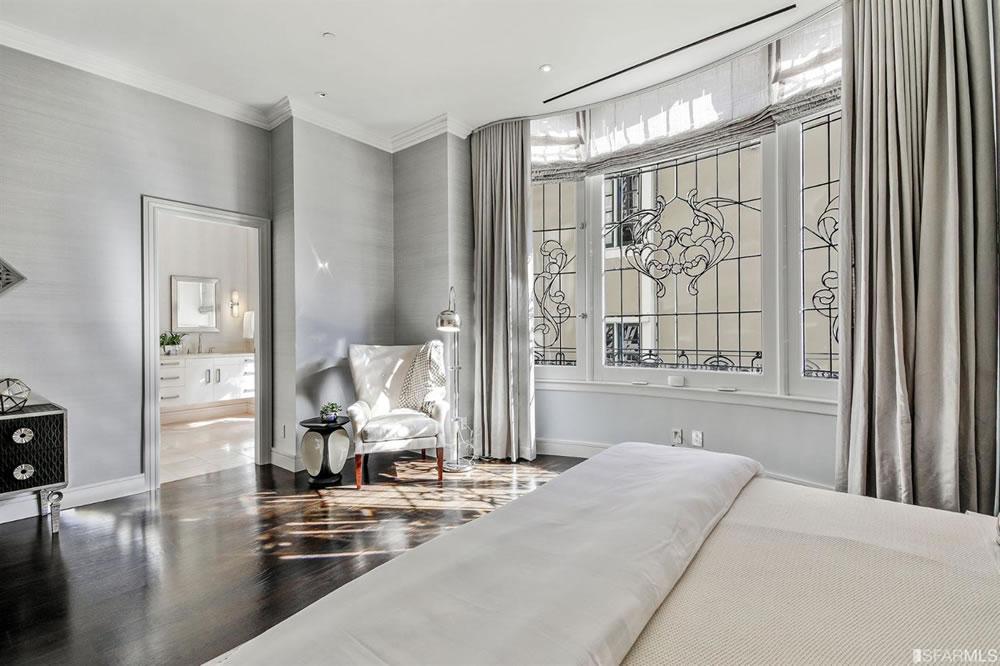 1001 California TH1 - Bedroom Reverse