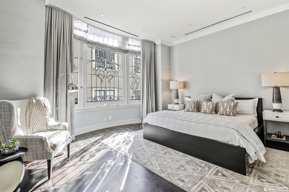 1001 California TH1 - Bedroom