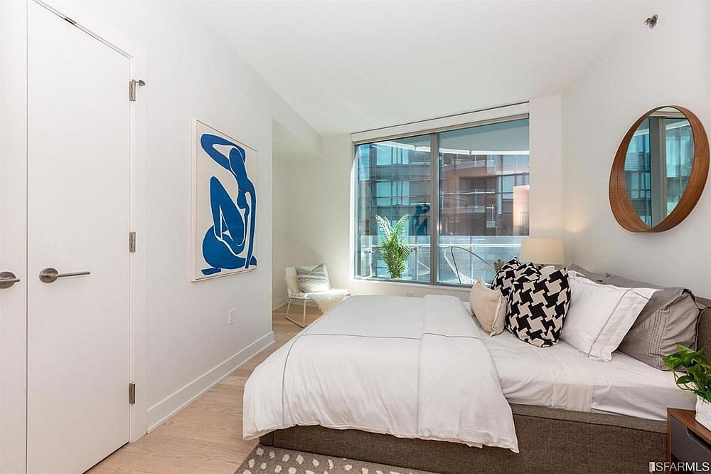 201 Folsom Street #6G - Bedroom
