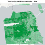 Turnout in San Francisco Sets One Record, Will Miss Another