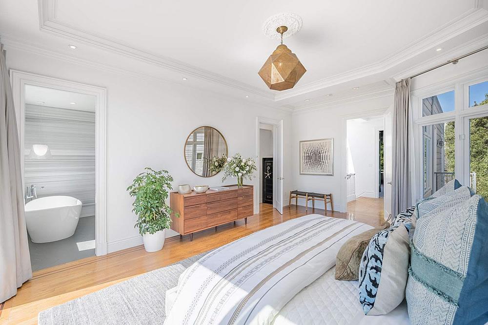 2838 Sacramento Street - Bedroom Reverse
