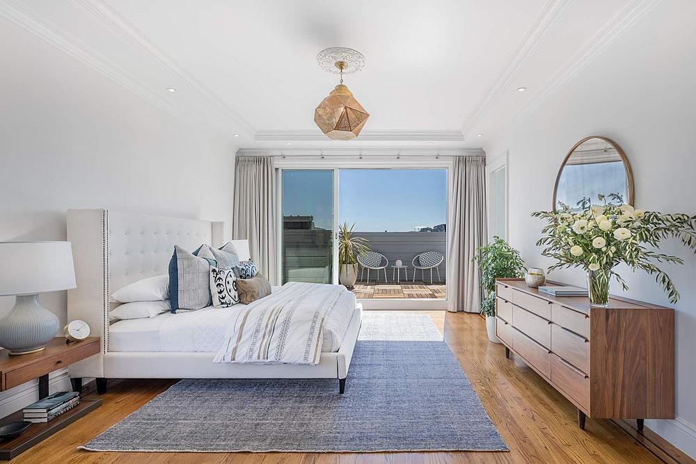 2838 Sacramento Street - Bedroom