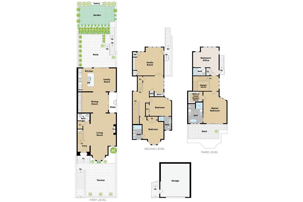2838 Sacramento Street - Floor Plan
