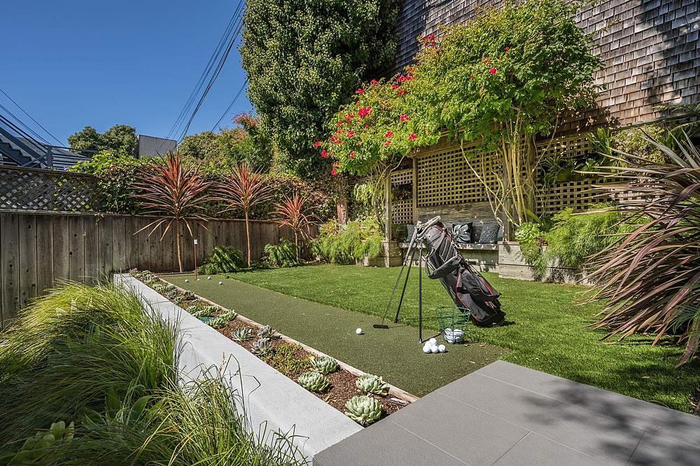 2838 Sacramento Street - Garden