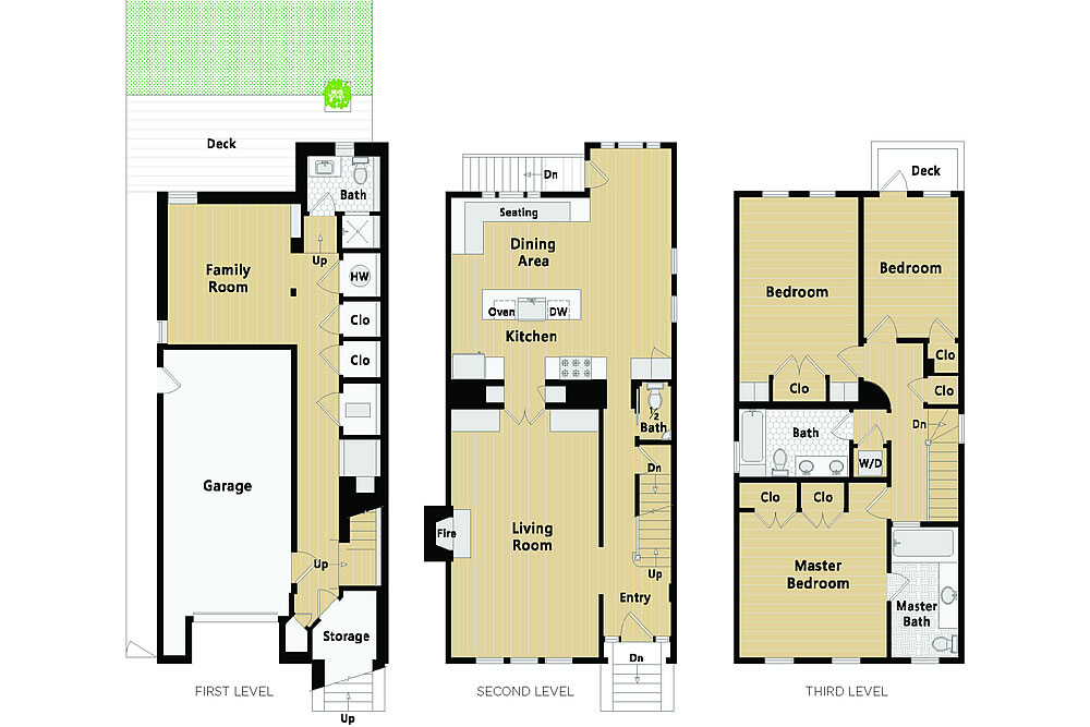 3020 Scott Street - Floor Plan