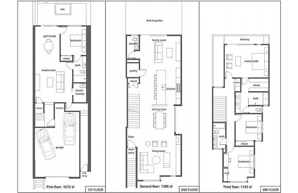 481 Jersey Street - Floor Plans