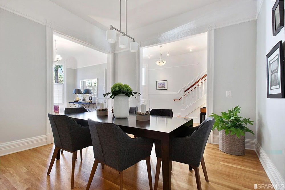 559 Douglass Street - Dining and Stairs
