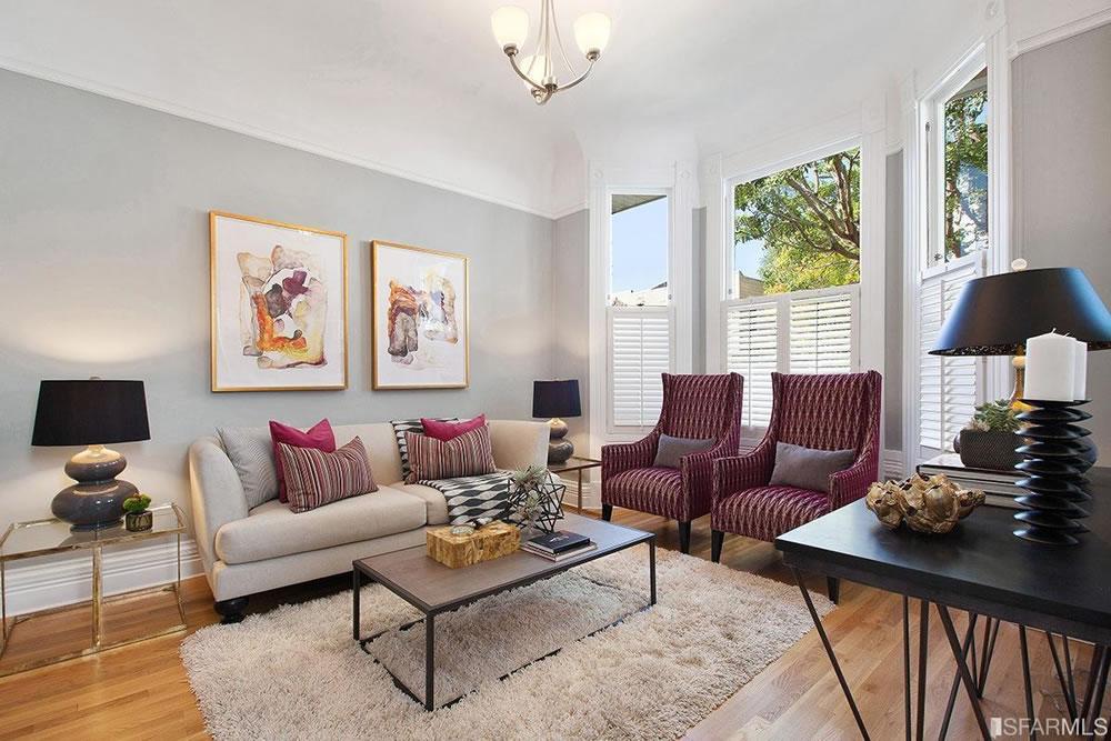 559 Douglass Street - Living