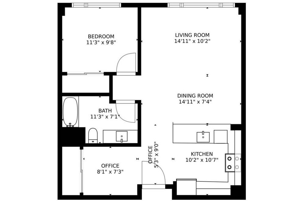 1160 Mission Street #1011 - Floor Plan
