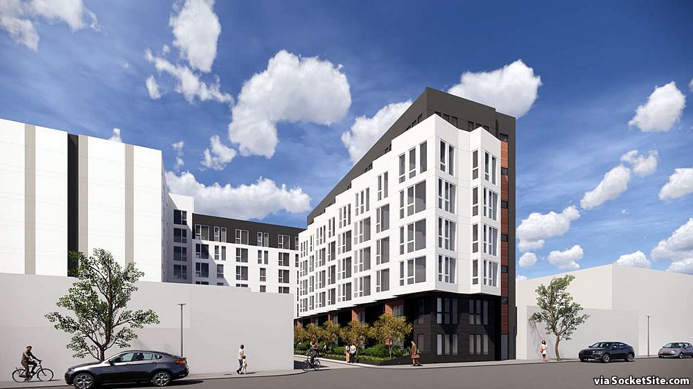 1560 Folsom Rendering 2020 - 11th Street Facade