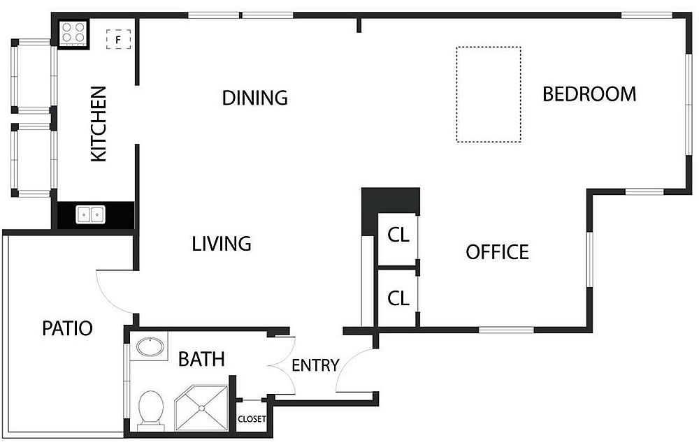 4353 17th Street - Floor Plan