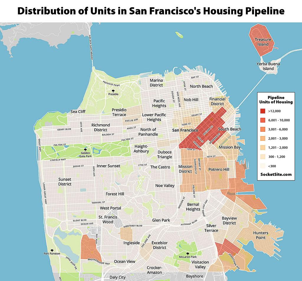 San Francisco's Housing Pipeline Drops 5 Percent, But…