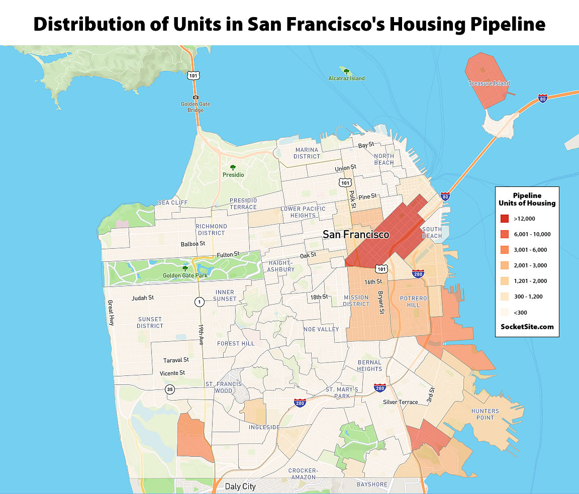 San Francisco's Housing Pipeline Held in Q3