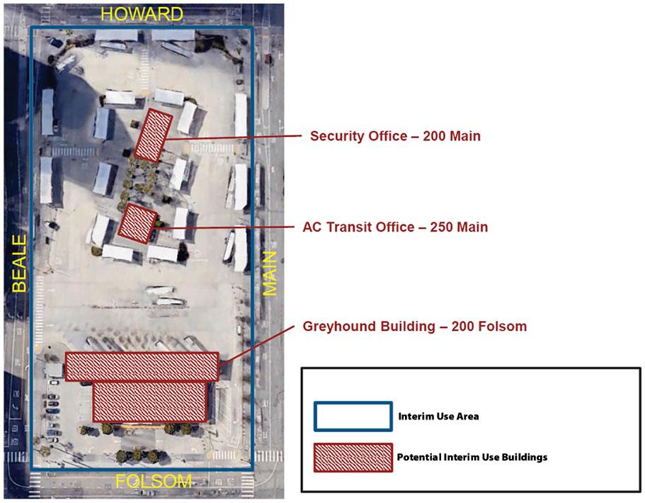 Temporary Terminal Site - Interim Use Area