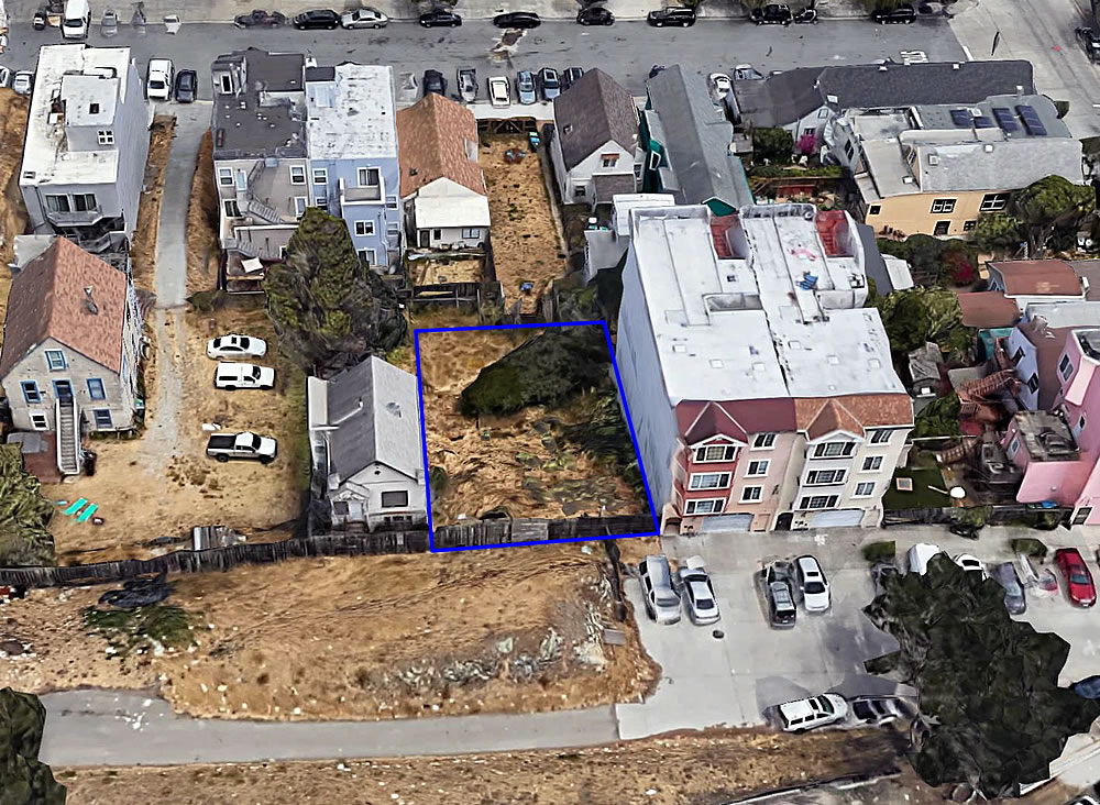 Twenty-Five Potrero Hill Infill HOMEs Could Rise Right Here