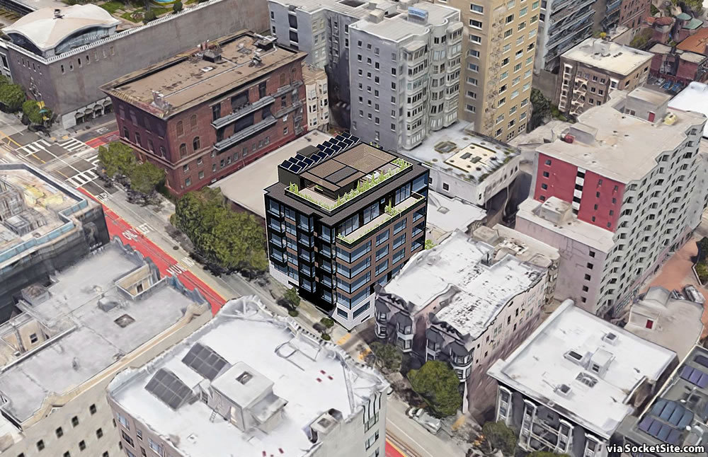 842 California Street Rendering