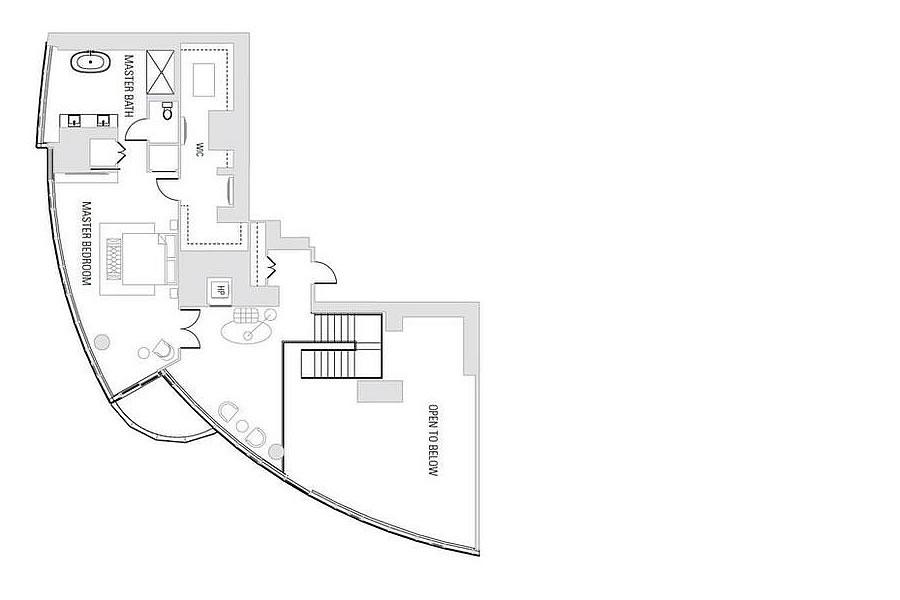 201 Folsom Street #41B - Floor Plan - Second Floor