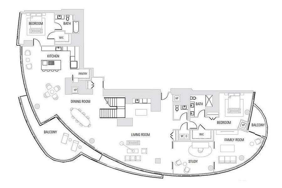 201 Folsom Street #41B - Floor Plan
