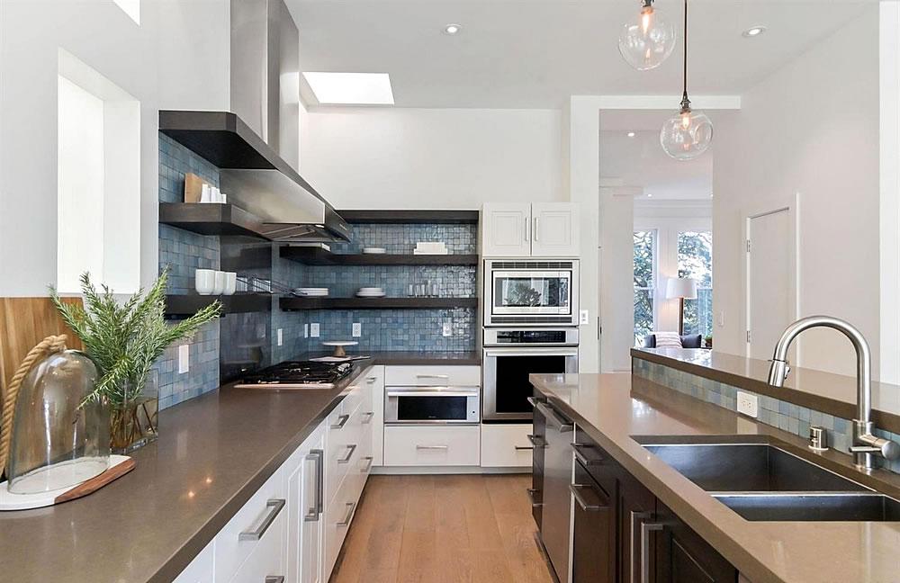 389 27th Street Kitchen Detail