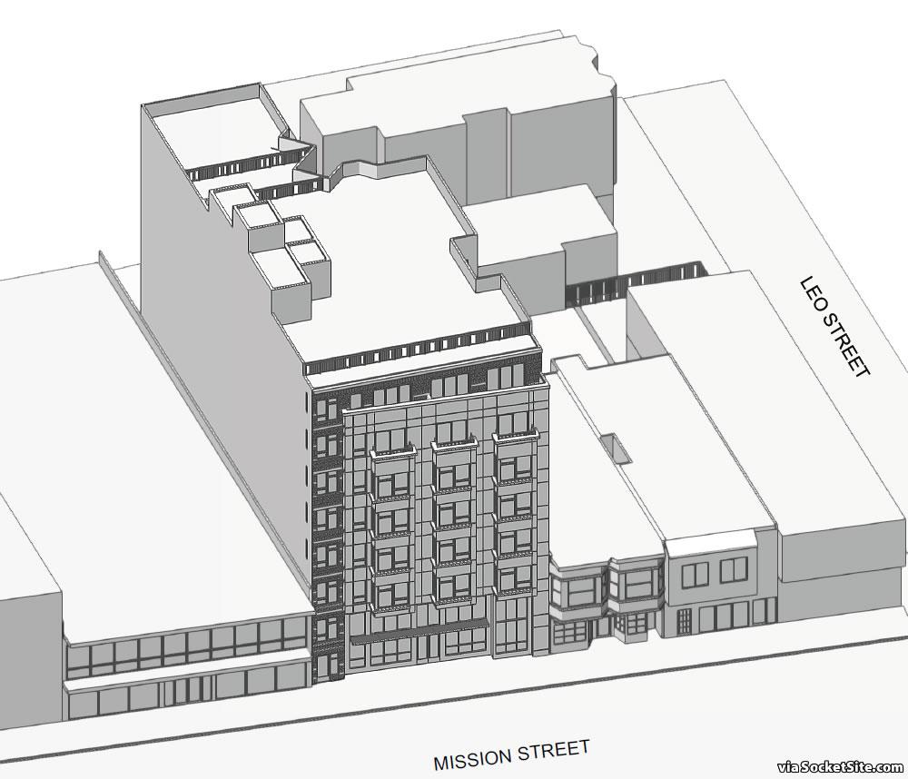 4742 Mission Street Massing