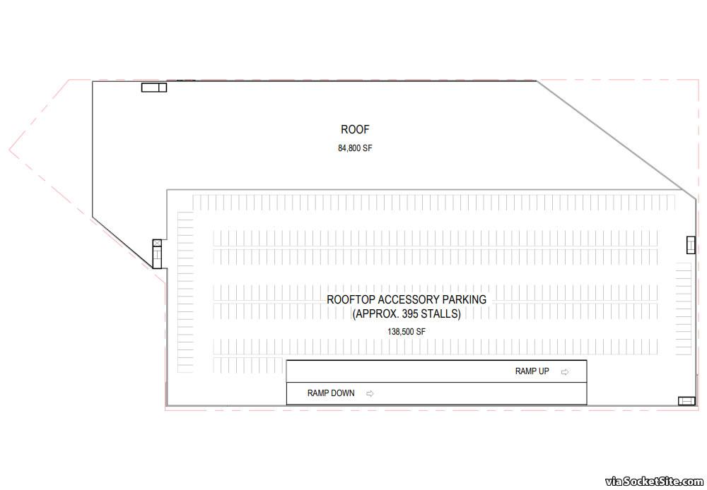 900 7th Street Amazon Center - Roof Plan