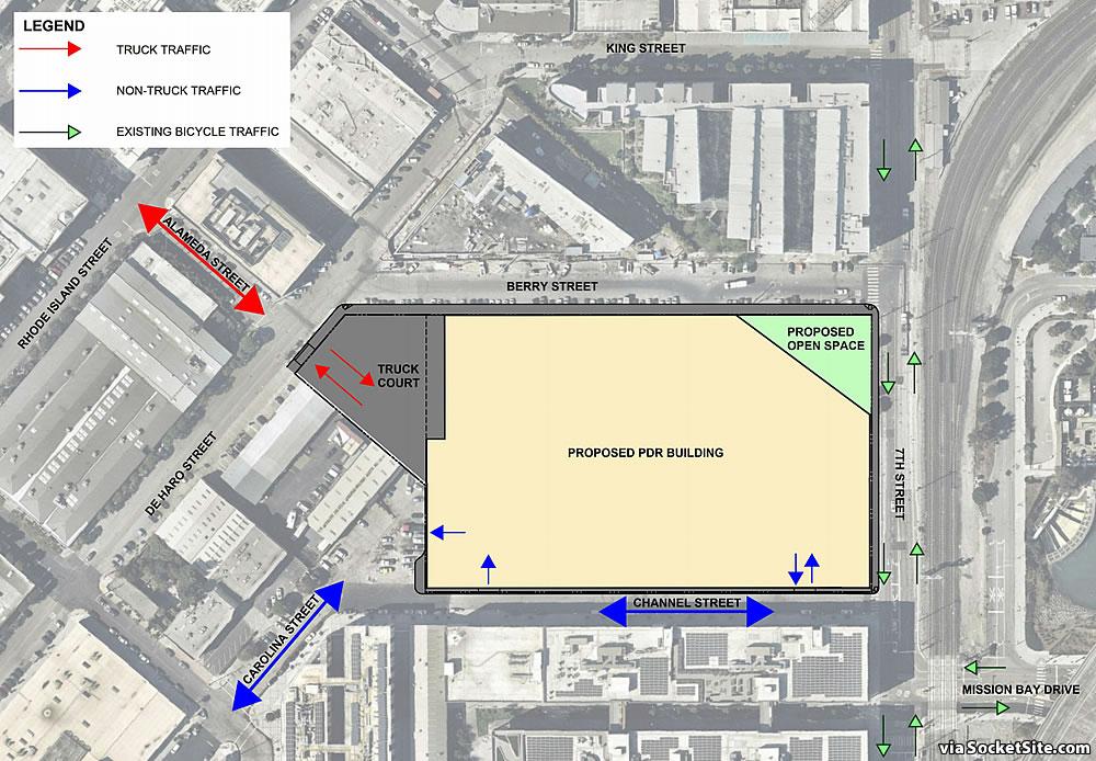 900 7th Street Amazon Center - Site Plan