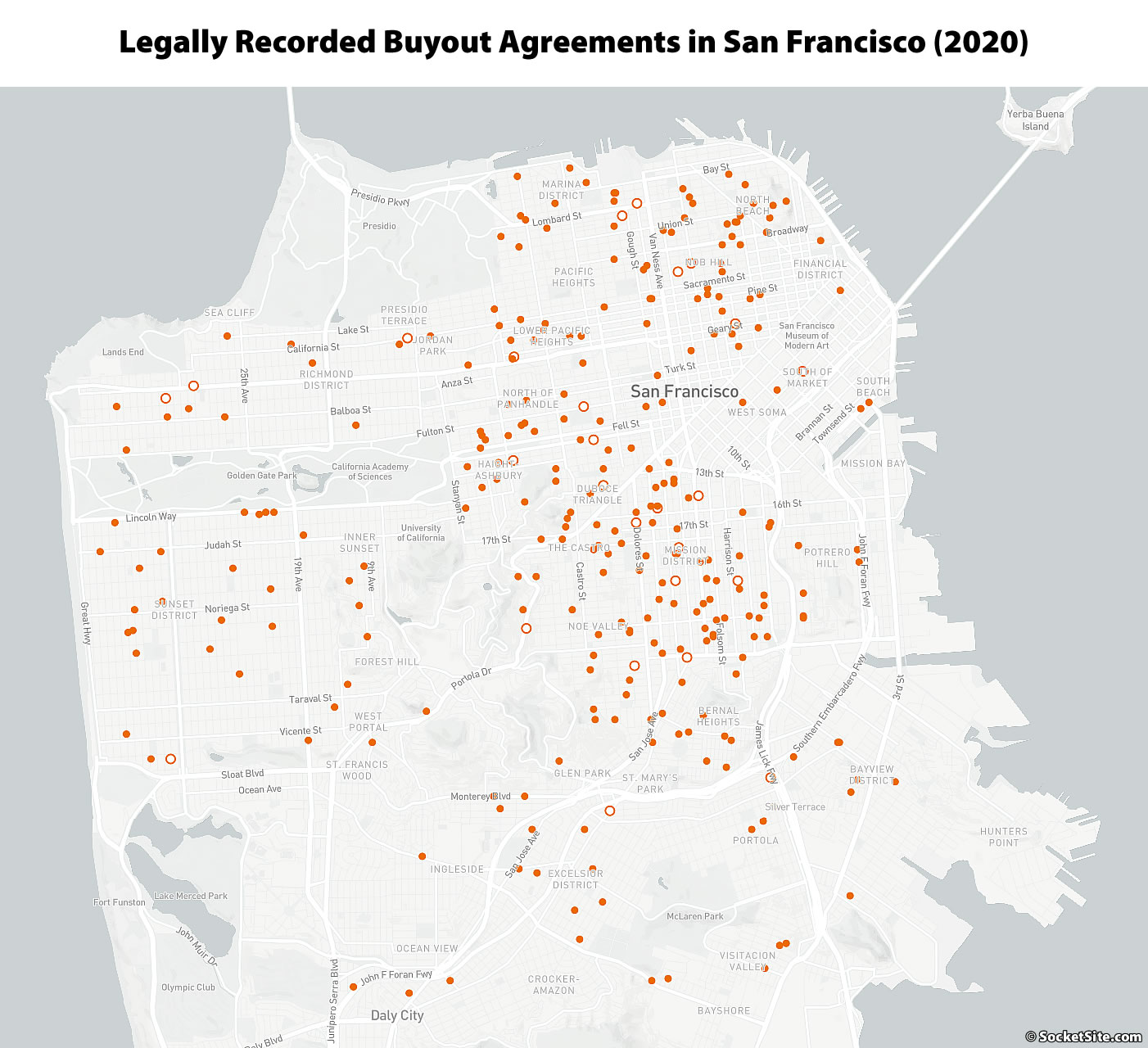 Average Tenant Buyout Was $45K in San Francisco Last Year
