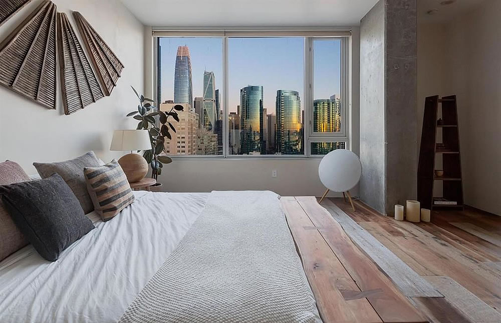 501 Beale PH #1C - Bedroom View