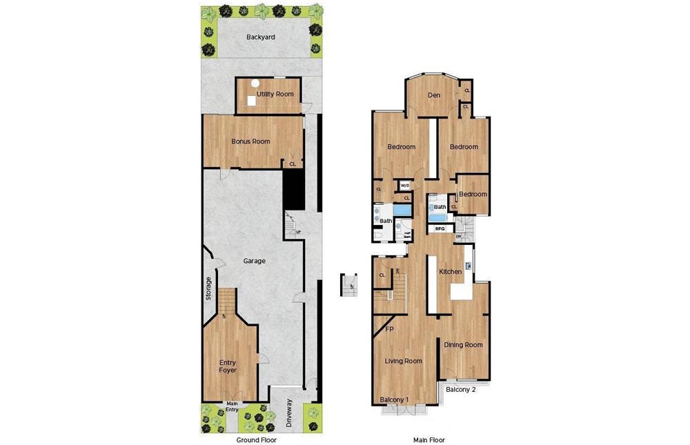 68 Parker Floor Plan