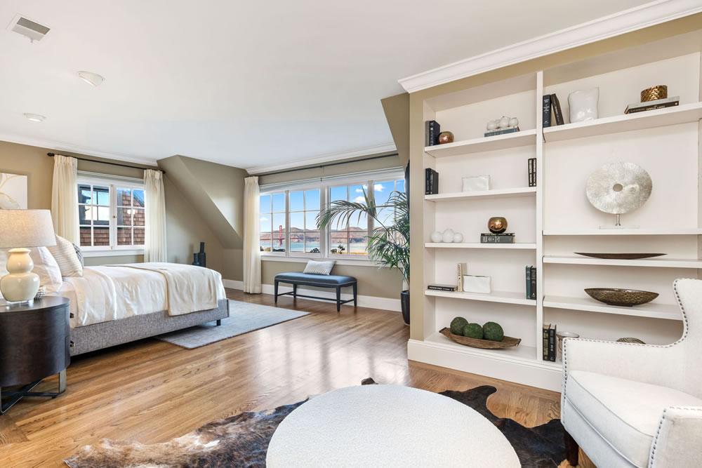 2727 Vallejo Street - Bedroom