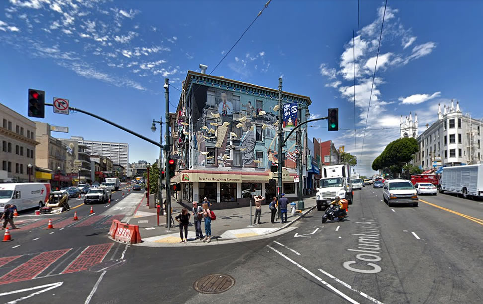 Iconic Jazz Mural Building on the Market