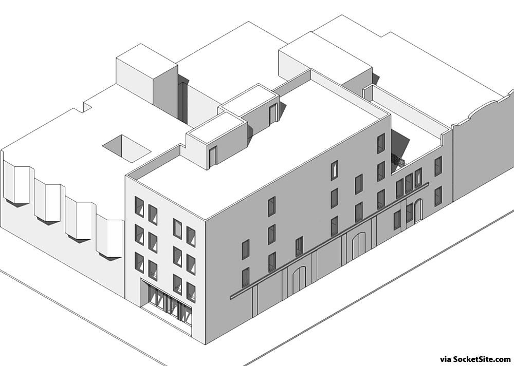 2200 Clement Rendering - 4 stories