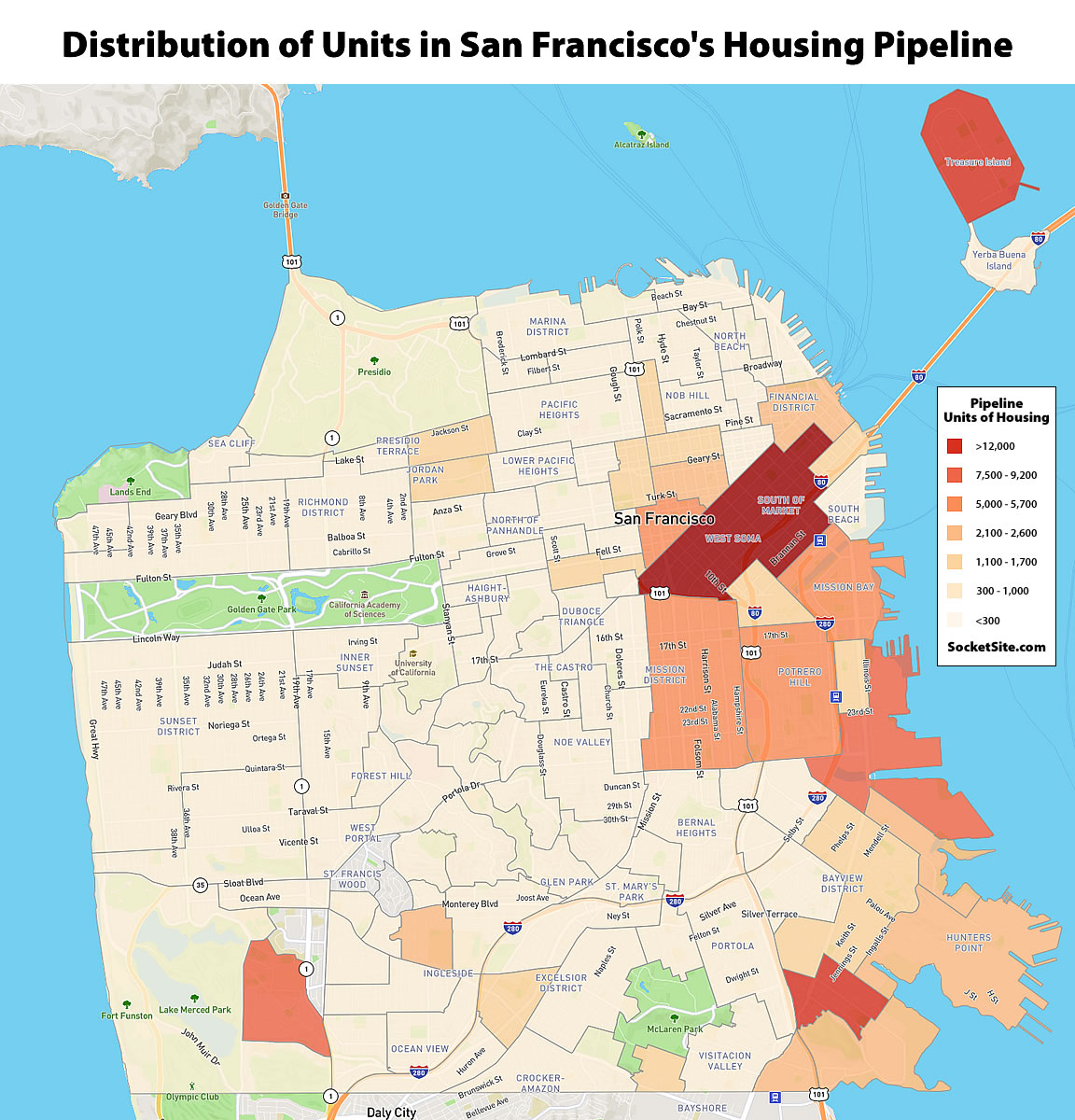 Pace of Construction in San Francisco Drops, but…