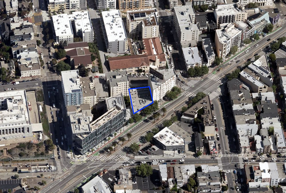 Upper Market Street Site In Play, Zoned for More Height