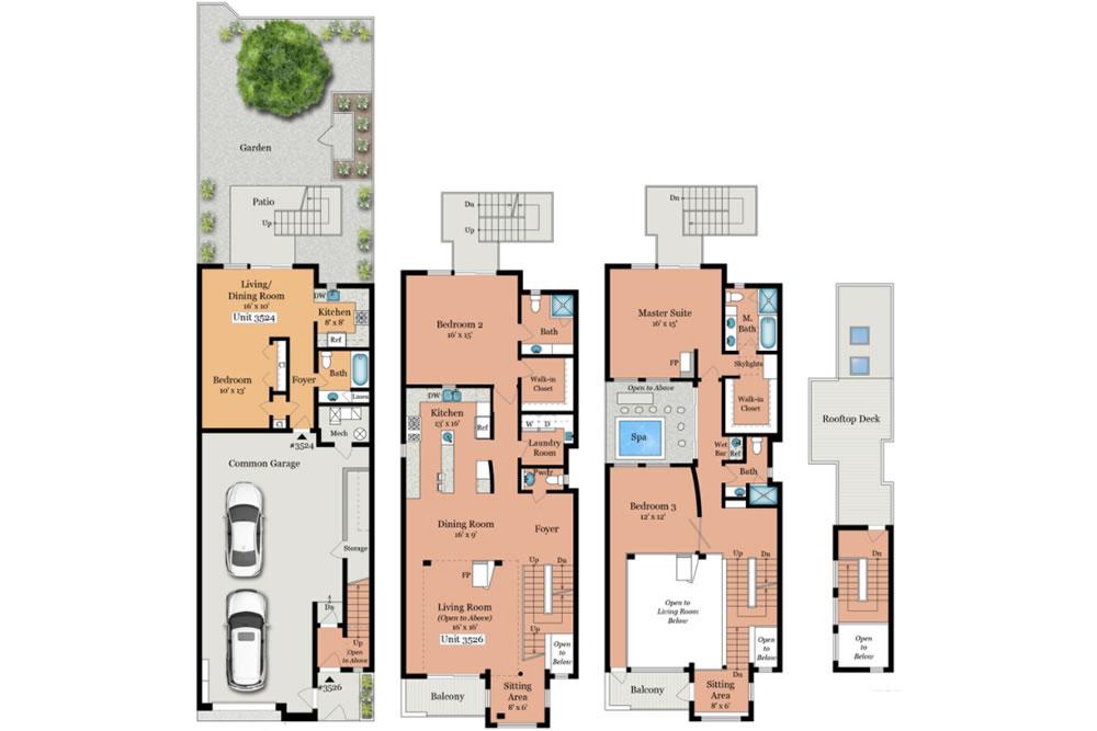 3524-3526 19th Street - Floor Plan