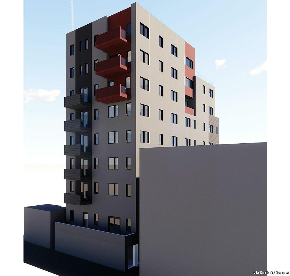 1326 Powell Street Rendering 2021 - Rear