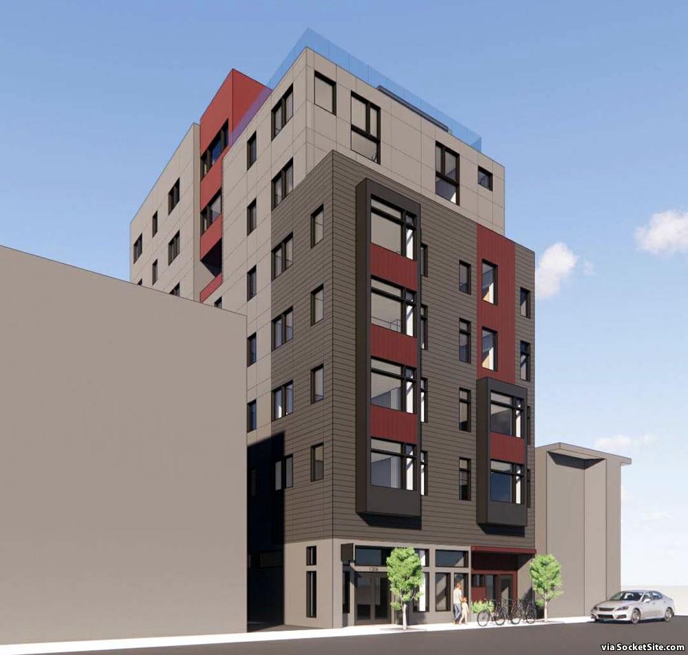 1326 Powell Street Rendering 2021