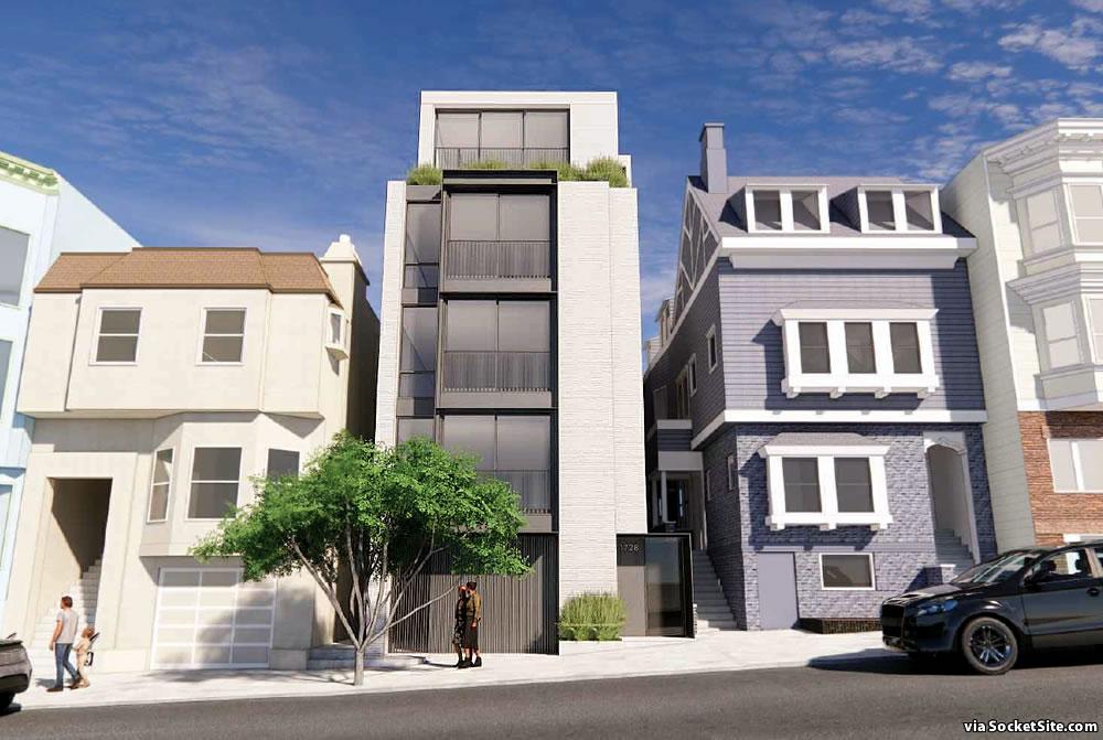 1728 Larkin Street Rendering