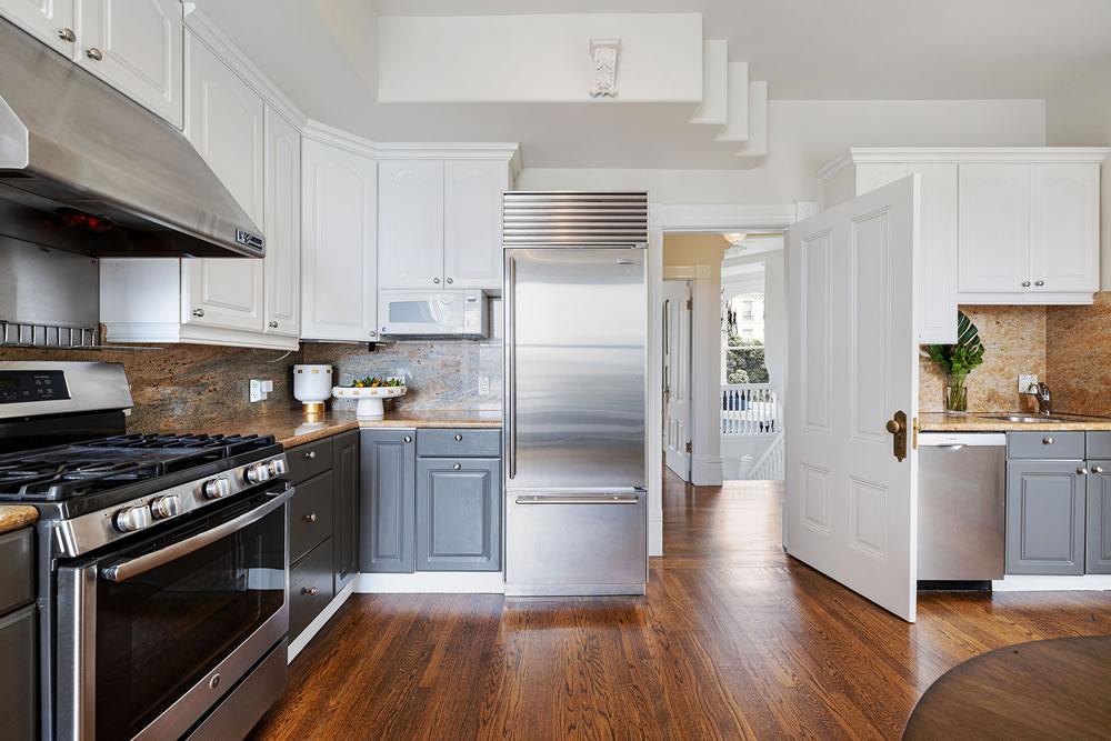 1067 Green Street - Kitchen Reverse