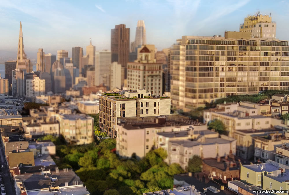 Upscale Nob Hill Infill Project Closer to Reality
