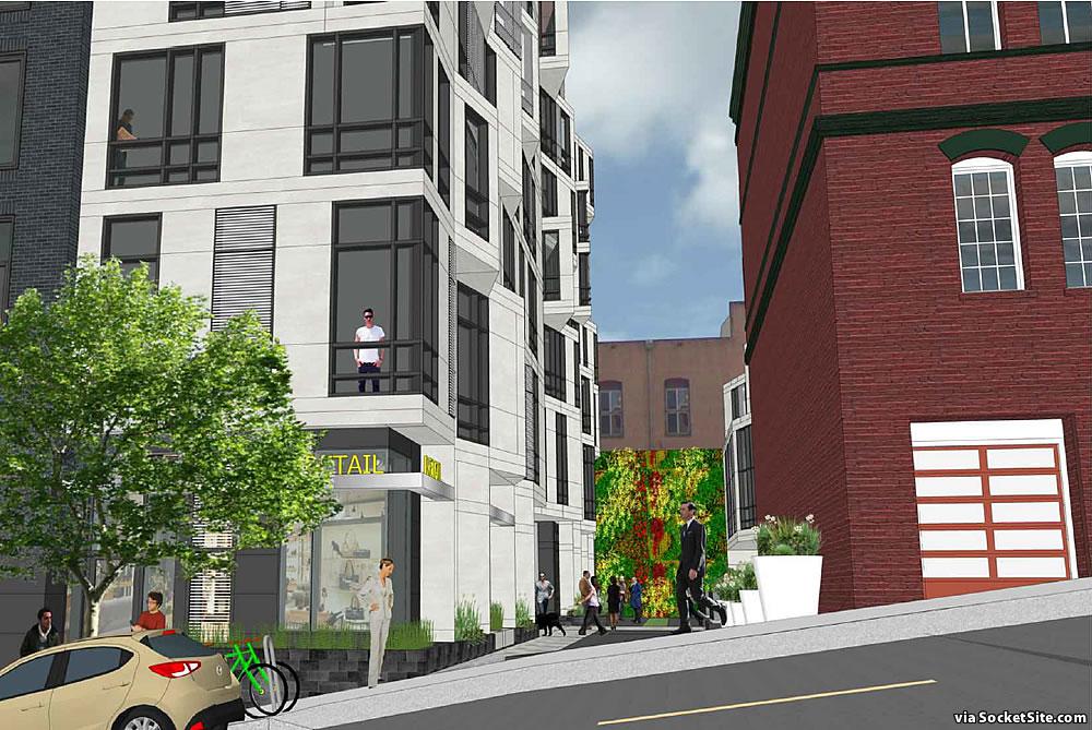 425 Broadway Rendering 2021 - Verdi Alley