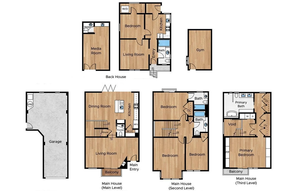 680 Douglass Street - Floor Plan