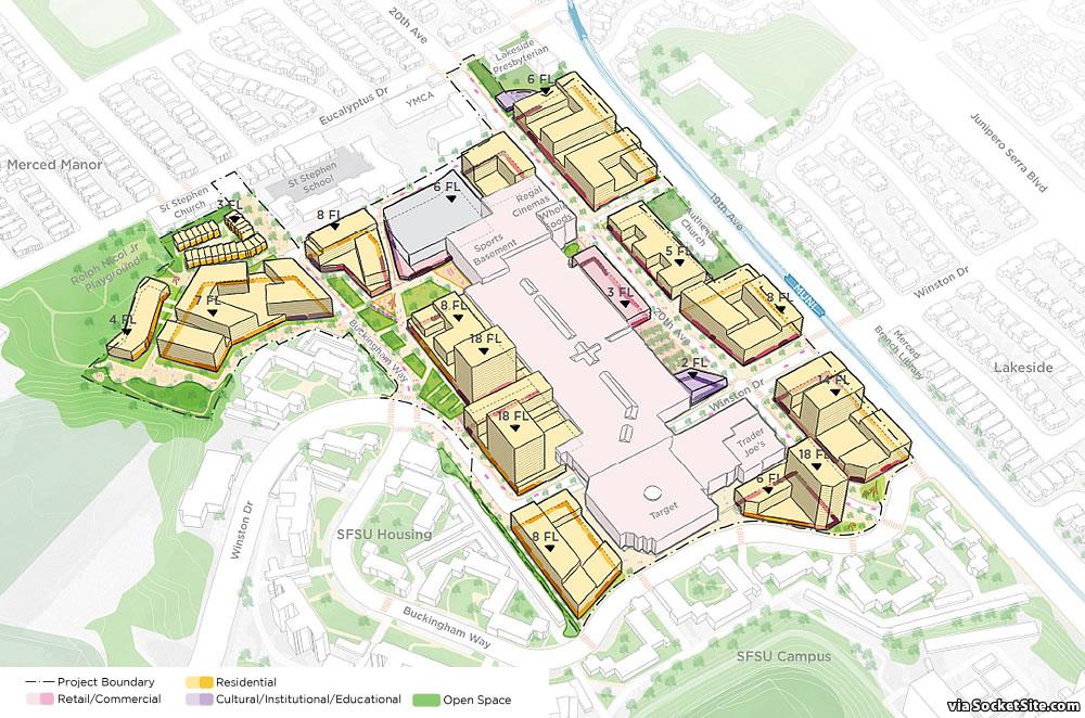 The Master Plan to Transform Stonestown into a Neighborhood
